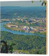 Lookout Mountain Vantage Wood Print