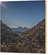 Lookout Point Wood Print