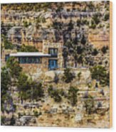 Lookout Studio @ Grand Canyon Wood Print