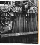 Loom With Prayer Cards Wood Print