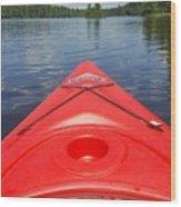 Loon Lake Reverie Wood Print