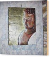 Lord Buddha Wood Print