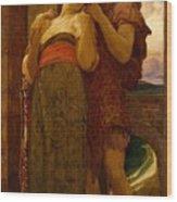 Lord Frederic Leighton - Wedded Wood Print