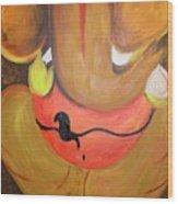 Lord Ganesh Ji Wood Print