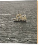 Lord Nelson Enters Sydney Harbour Wood Print