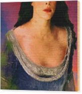 Lord Of The Rings Arwen Wood Print