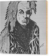 Lord Vampire Wood Print