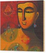 Lord Vishnu Wood Print