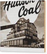 Loree Colliery Larksville Pa. Hudson Coal Co  Wood Print