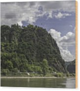 Loreley Rock 10 Wood Print