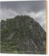 Loreley Rock 12 Wood Print