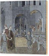 Lorenzetti: Good Govt Wood Print