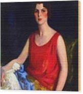Loretta Hines Howard Wood Print