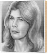 Loretta Swit Wood Print