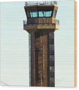 Loring Air Base Tower Wood Print