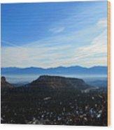 Los Alamos Wood Print