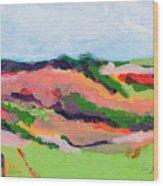 Los Alamos Valley II Wood Print