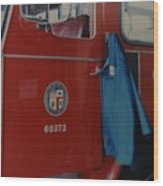 Los Angeles Fire Department Wood Print