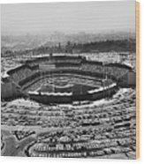 Los Angeles: Stadium, 1962 Wood Print