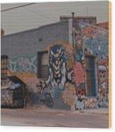 Los Angeles Urban Art Wood Print