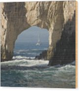 Los Arcos Wood Print