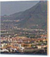 Los Gigantes Panorama 1 Wood Print