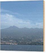 Los Gigantes Panorama  Wood Print