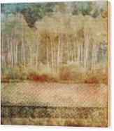 Loss Of Memory Wood Print