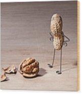 Lost Brains 01 Wood Print