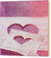 Lost Hearts Wood Print