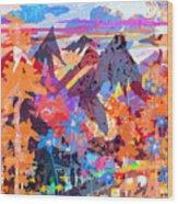 Lost In Colorado Wood Print