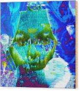 Lost In Davy Jones Locker Wood Print