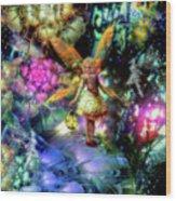 Lost In Faeland Wood Print