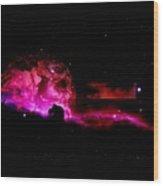 Lost In Space Wood Print