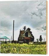 Lost Mill Wood Print