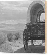 Lost On The Oregon Trail Wood Print
