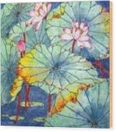 Lotus #2 Wood Print