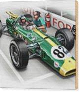 Lotus 38 Indy 500 Winner 1965 Wood Print by David Kyte