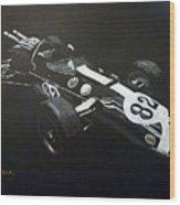 Lotus 38 No82 Wood Print