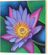 Lotus Divine Wood Print