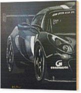 Lotus Exige Gt3 Side Wood Print