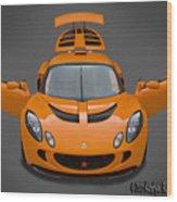 Lotus Exige S  Wood Print