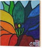 Lotus Flower 1 Wood Print