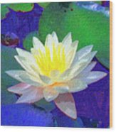 Lotus Grace Wood Print