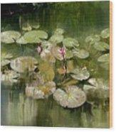 Lotus Pond 1 Wood Print