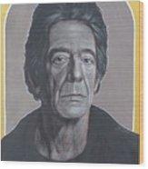 Lou Reed Wood Print