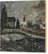 Louette St Denis  Wood Print