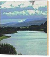 Lough Erne Wood Print