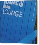 Louie S Lounge Wood Print