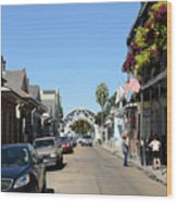Louis Armstrong Park - Straight Ahead - New Orleans Wood Print